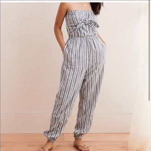 NWT Aerie Tie Front Jumpsuit